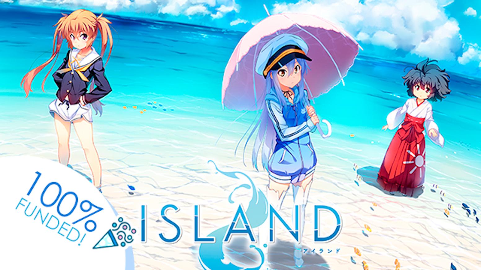 Support Visual Novel ISLANDs English Game Anime Debut