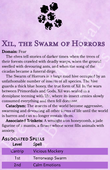 Xil, the Swarm of Horrors
