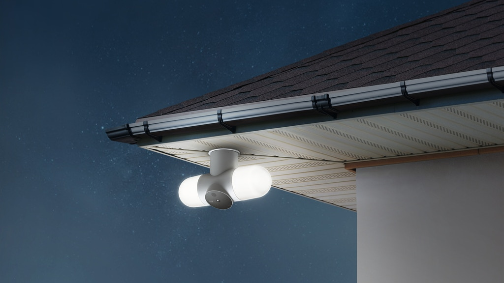 Litmor Capsule: The Intelligent 180° Camera Floodlight