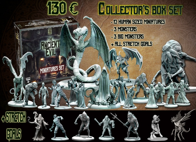 Collector's Box containing all the miniatures and stretch goals!