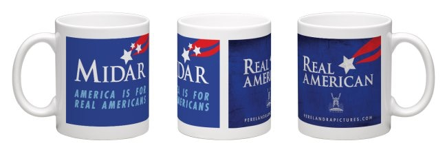 Real American mugs from Reward #4/Recompensa 4. taza de café