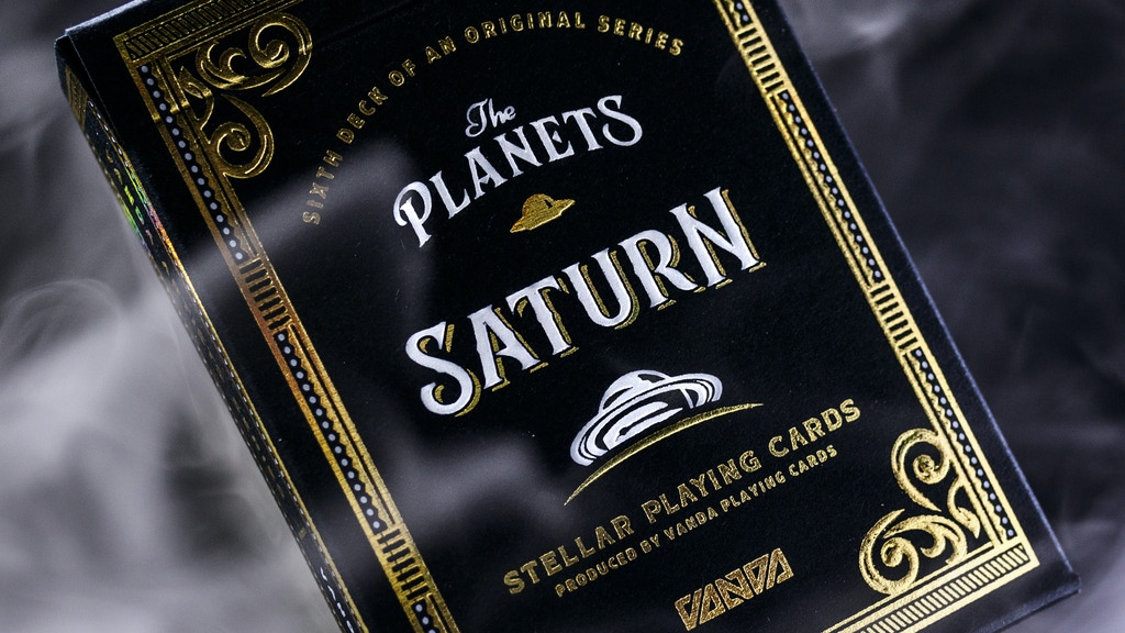 The Planets: Saturn Playing Cards [6 of 8]