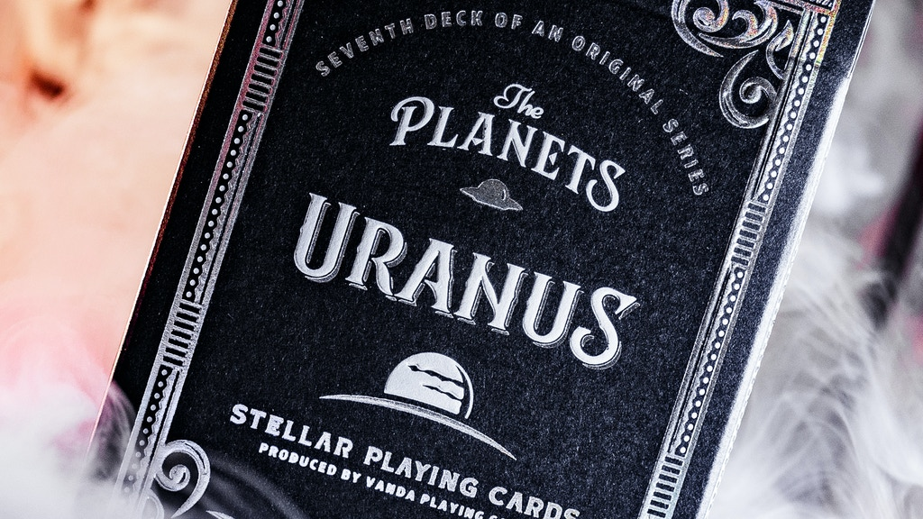 The Planets: Uranus Playing Cards [7 of 8]