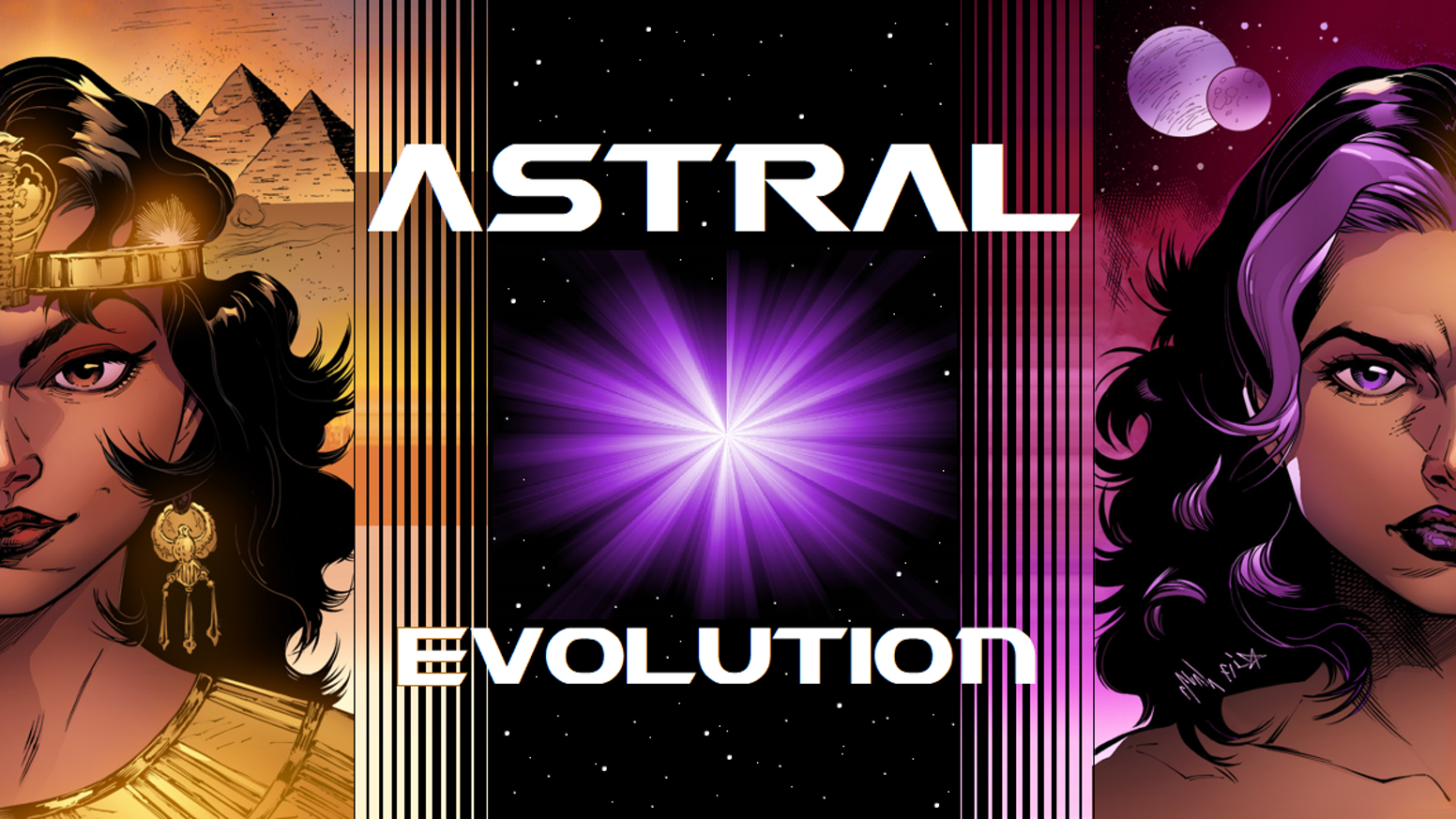 Astral Evolutionsci Fi Action Epic About Honor Sacrifice By Jay The Creative Science Centre Dr Jonathan P Hare Complete Graphic Novel Featuring 100 Gorgeous Full Color Pages Of Thrilling Sci
