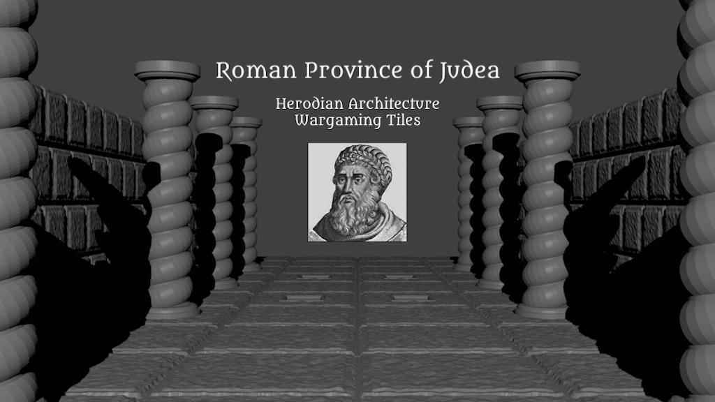 Roman Judea OpenLOCK Wargaming Tiles - 3D Printable STL File project video thumbnail