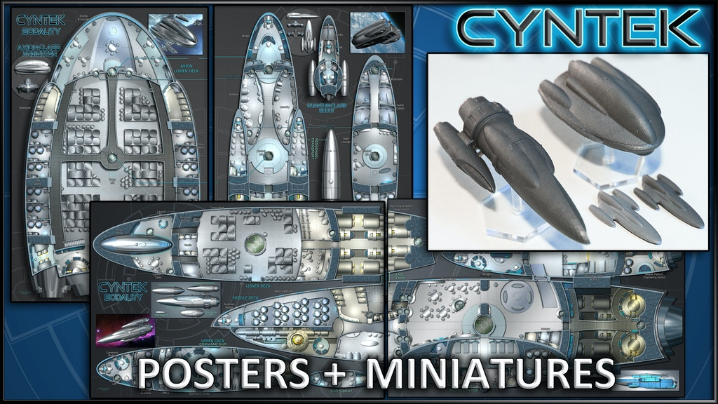 CYNTEK: Starship Maps & Miniatures