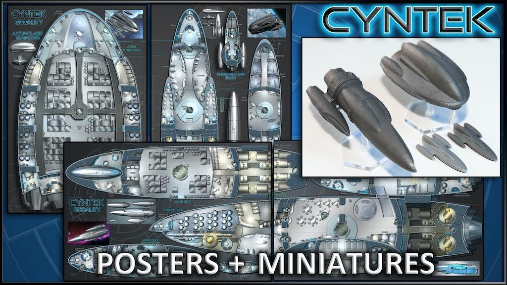 CYNTEK: Starship Maps & Miniatures project video thumbnail