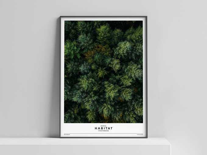 Limited Edition Poster »HABITAT« (Scene B: Forest) 50x70 cm, 50 Euro