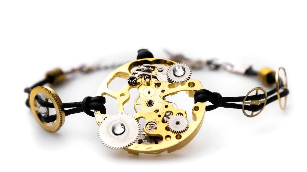 Skeleton XIII Bracelet- Unique innovation in fine Jewellery