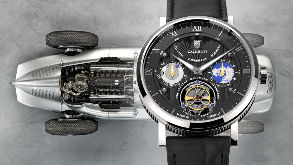 Luxury Timepieces Made in Germany - Manufaktur Waldhoff project video thumbnail