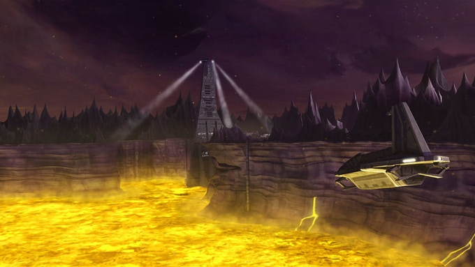 "The Citadel as seen in ""Star Wars: The Clone Wars"" Season 3"