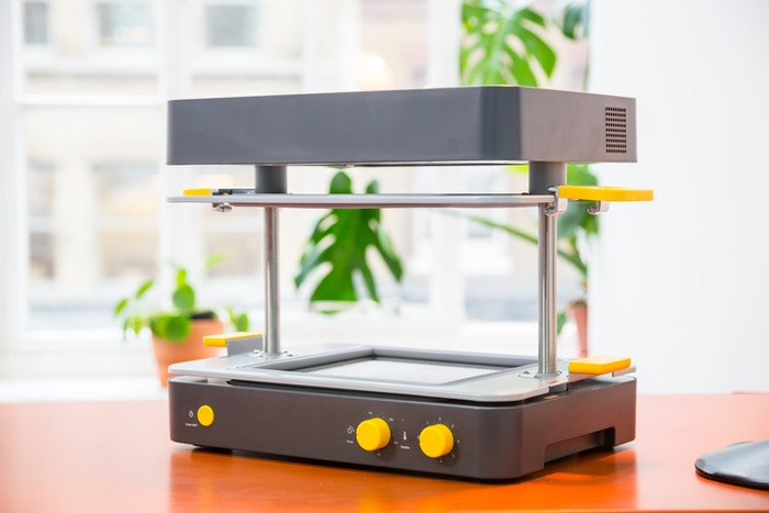 Now for sale at www.mayku.me. Whether partnering with a 3D printer or creating by hand, the Mayku FormBox puts the power of making in your hands.