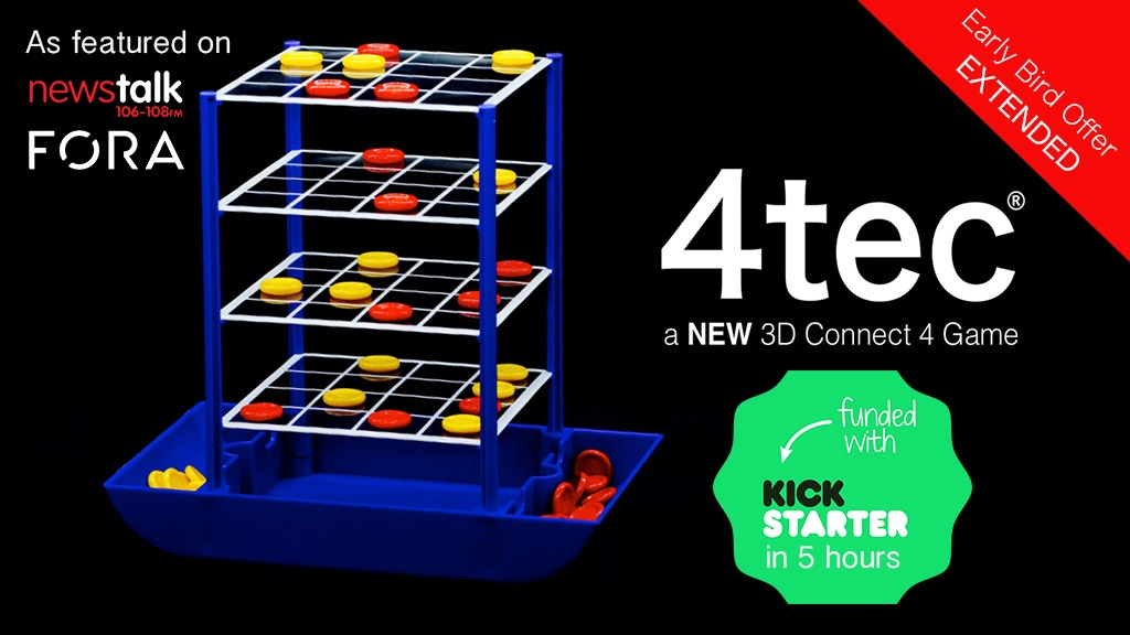 4tec: a New 3D Connect 4 Game project video thumbnail