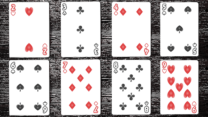 Card samples for the [LIMITED EDITION] Turning Japanese Deck (Design option 2)