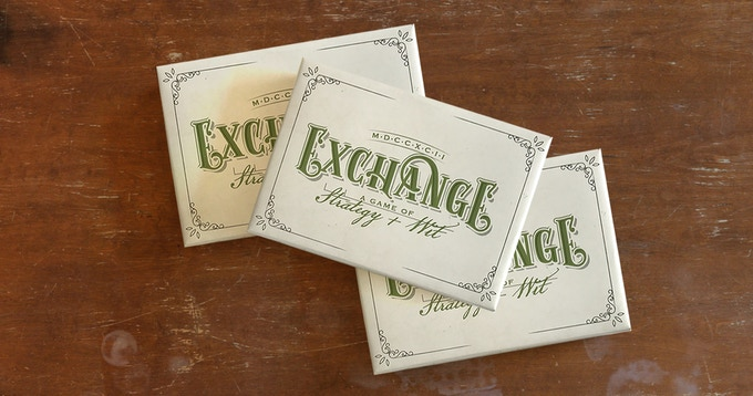 Triple Trader: 3 copies of Exchange. A great value for friends and family who want to buy together.