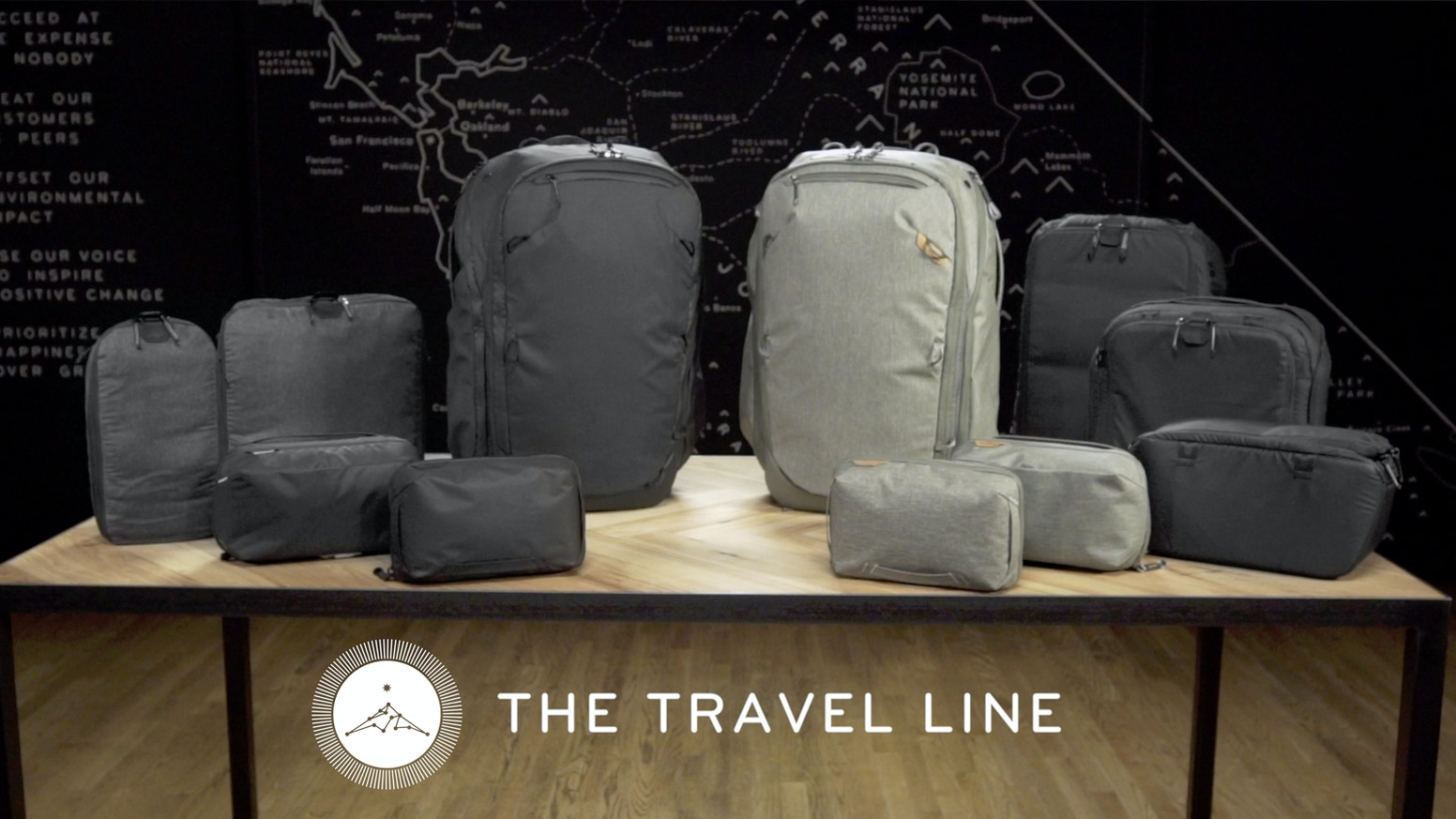 Luggage redefined: a carry-on Travel Backpack and system of Packing Tools designed around the idea that no two trips are the same.