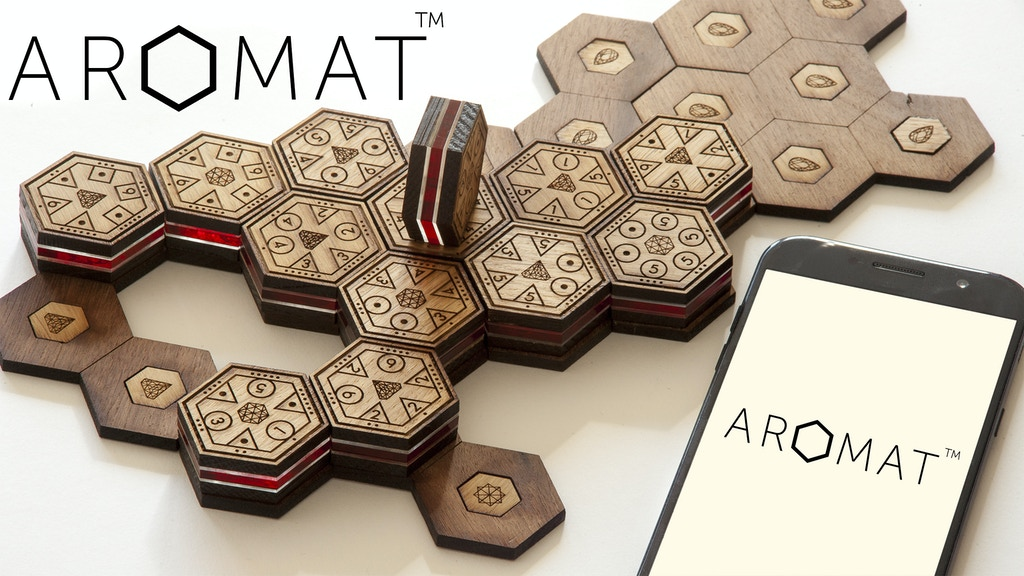 Aromat / Board Game+App / Strategic, Collectible, Beautiful project video thumbnail