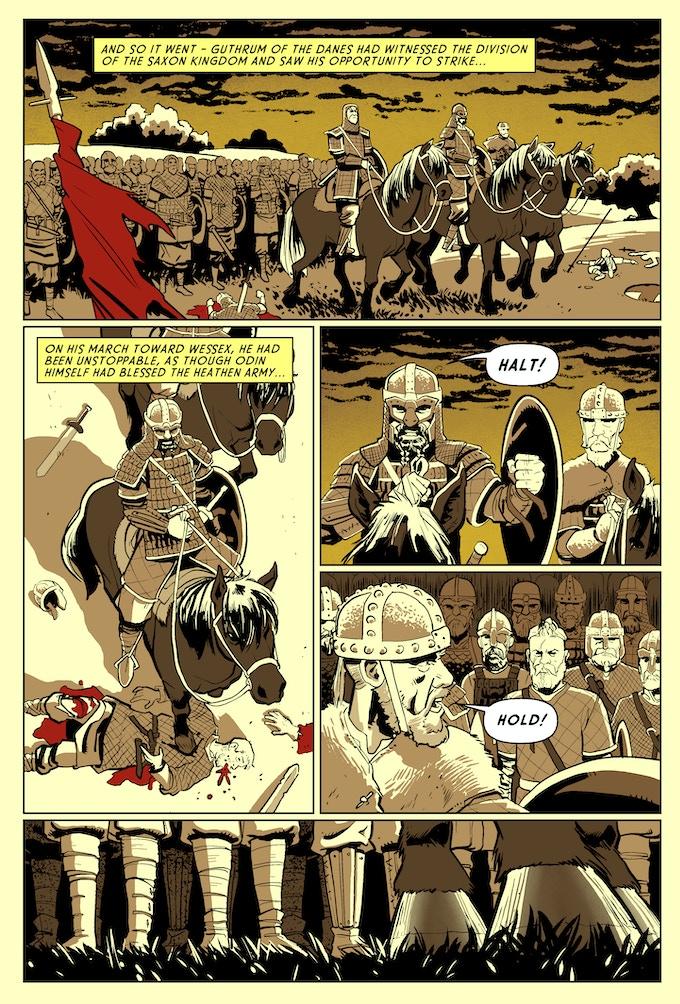Page #1 - The Danes - Battle of Edington