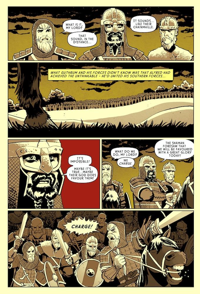 Page #2 - The Danes - Battle of Edington
