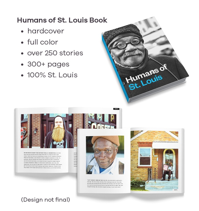 Mock-ups of the book as the team starts to narrow down the stories, layout, and design.
