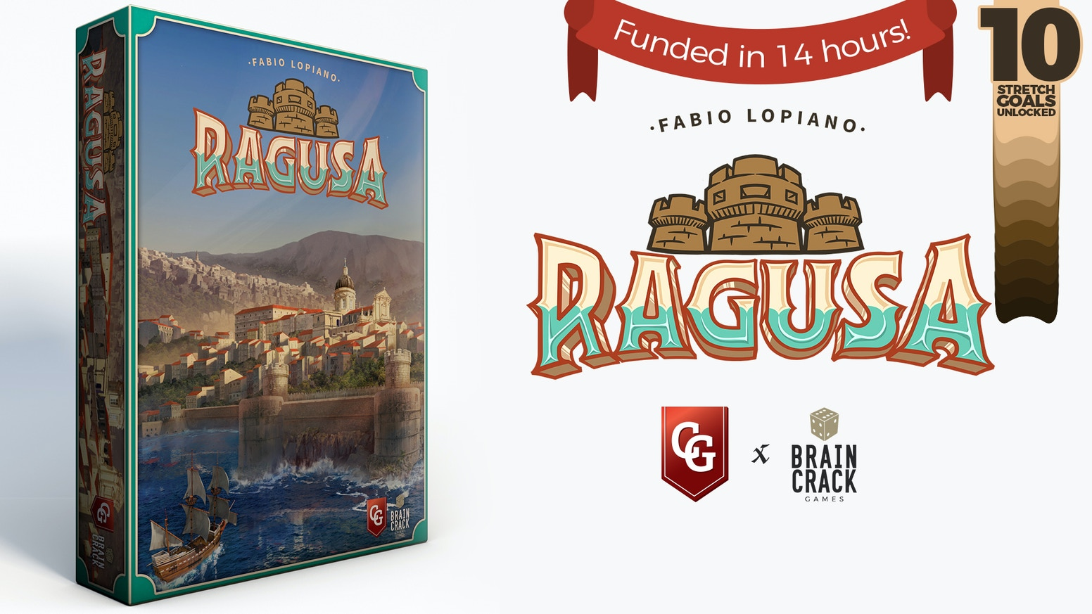 A Mediterranean city-builder from award-winning designer Fabio Lopiano, with custom components and a dedicated solo mode.