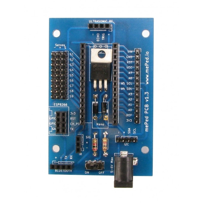 The Meped LittleBot Control Board