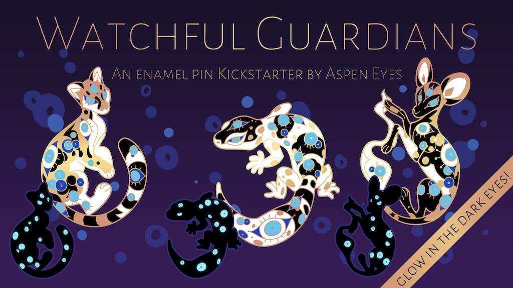 Watchful Guardians Deluxe Enamel Pins