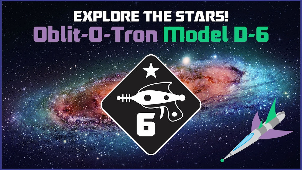 Oblit-O-Tron D6 Dice - Explore the Stars! project video thumbnail