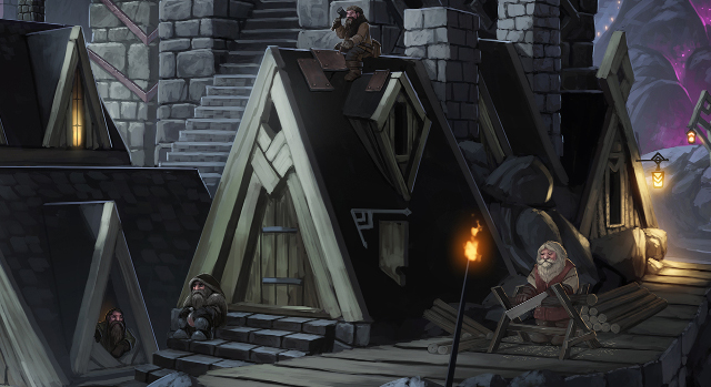Play as dwarves who work and live underground in social harmony