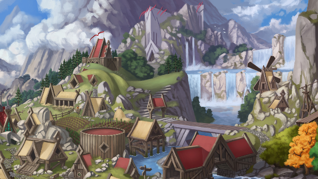 A world inspired by classic and contemporary fantasy literature