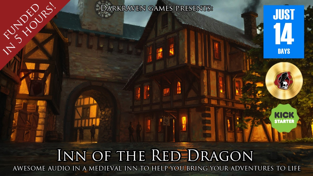 """Inn of the Red Dragon""--Audio For Table Top Adventures project video thumbnail"