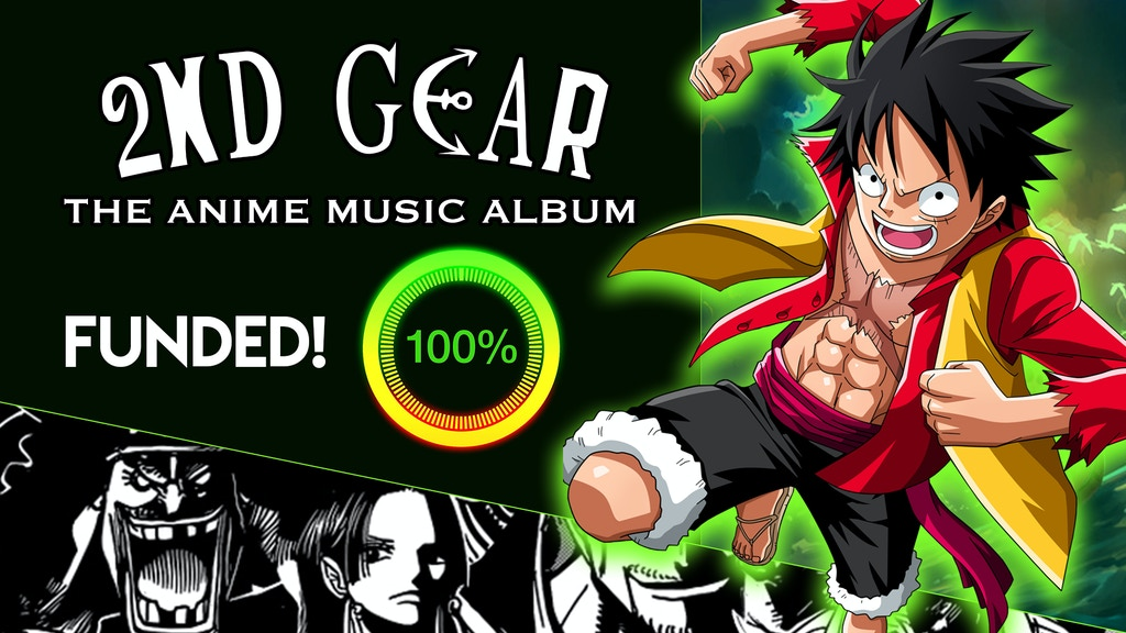 2nd Gear: Anime Music Album LIMIT BREAKER project video thumbnail