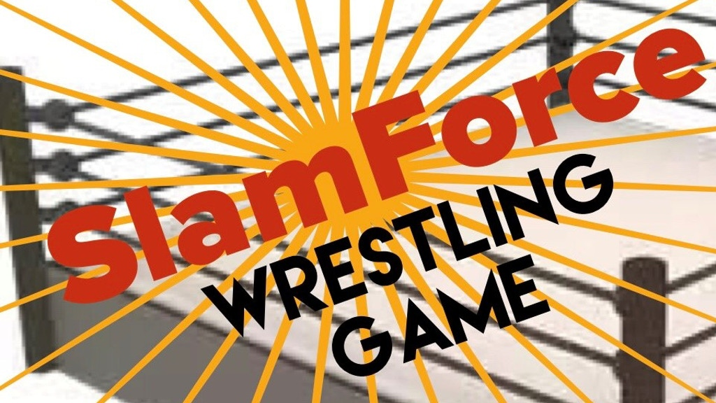 SlamForce Wrestling Game - tabletop, dice, card, & strategy