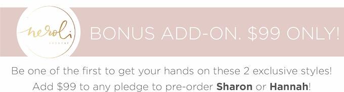 Estimated delivery date – 90 days for pre-order dresses after Kickstarter campaign ended