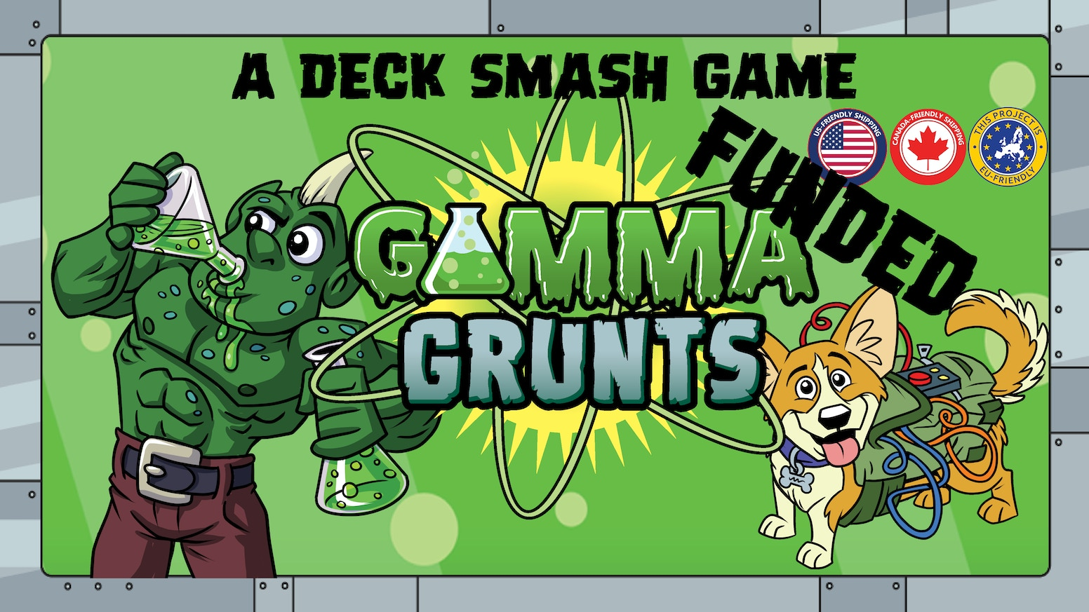 Play a mad scientist out for world domination in this battle-oriented deck builder by Josh Hipsher and Kyle Boehnlein.