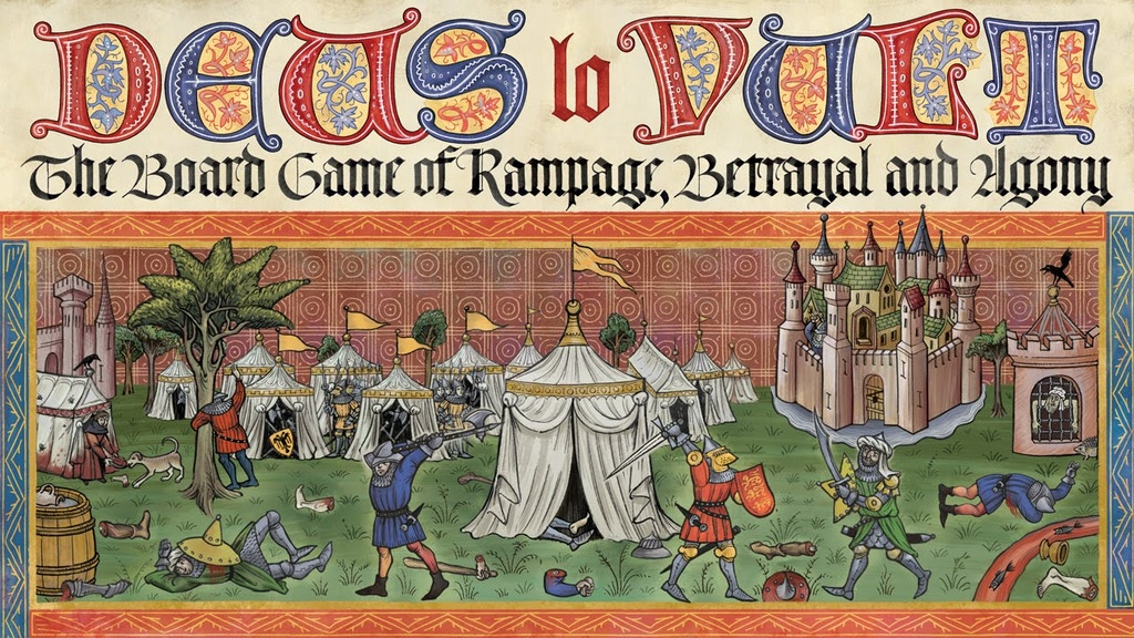Deus lo Vult – The Board Game of Rampage, Betrayal and Agony project video thumbnail