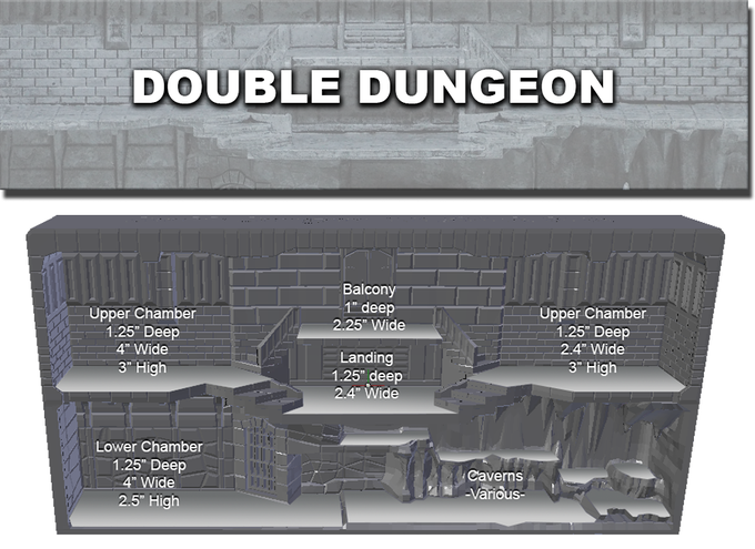 Double Dungeon Layout