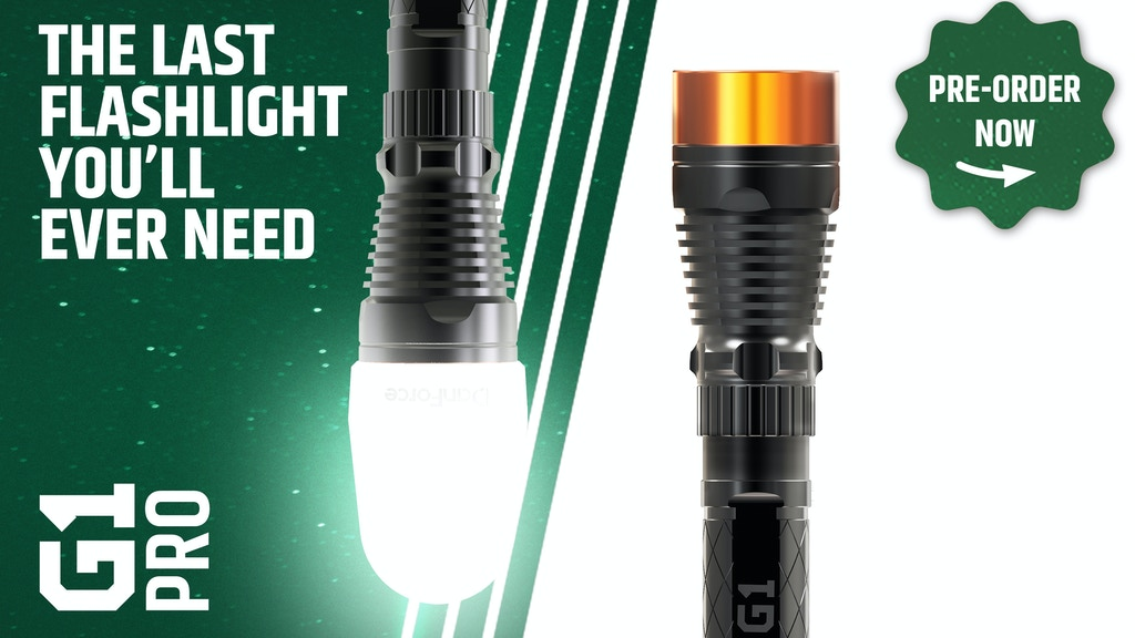 DanForce G1 Pro- The World's First Modular Flashlight.