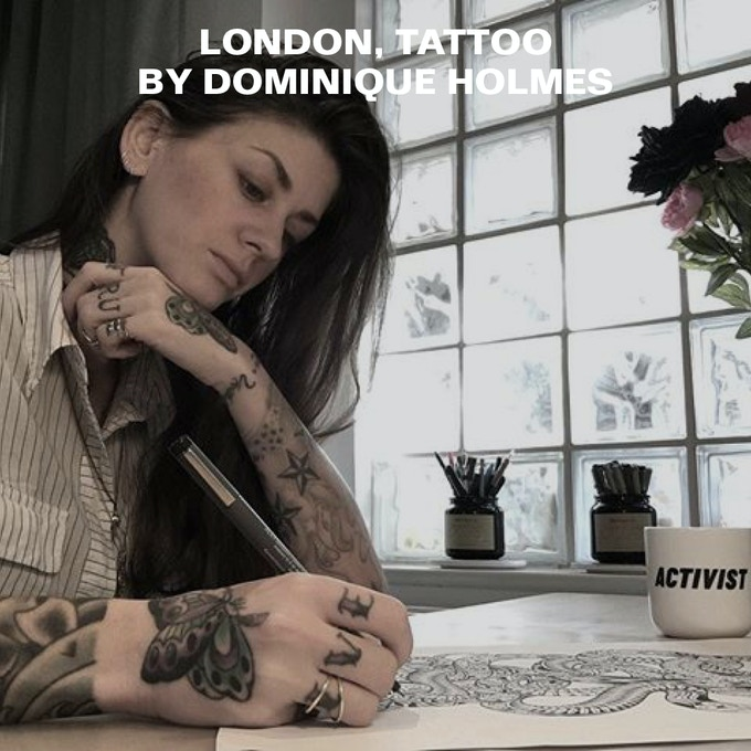 LONDON, TATTOO for $300 or more