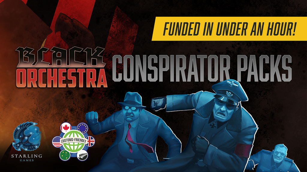 Declassified conspirators join with new allies to expand the resistance network in Black Orchestra!
