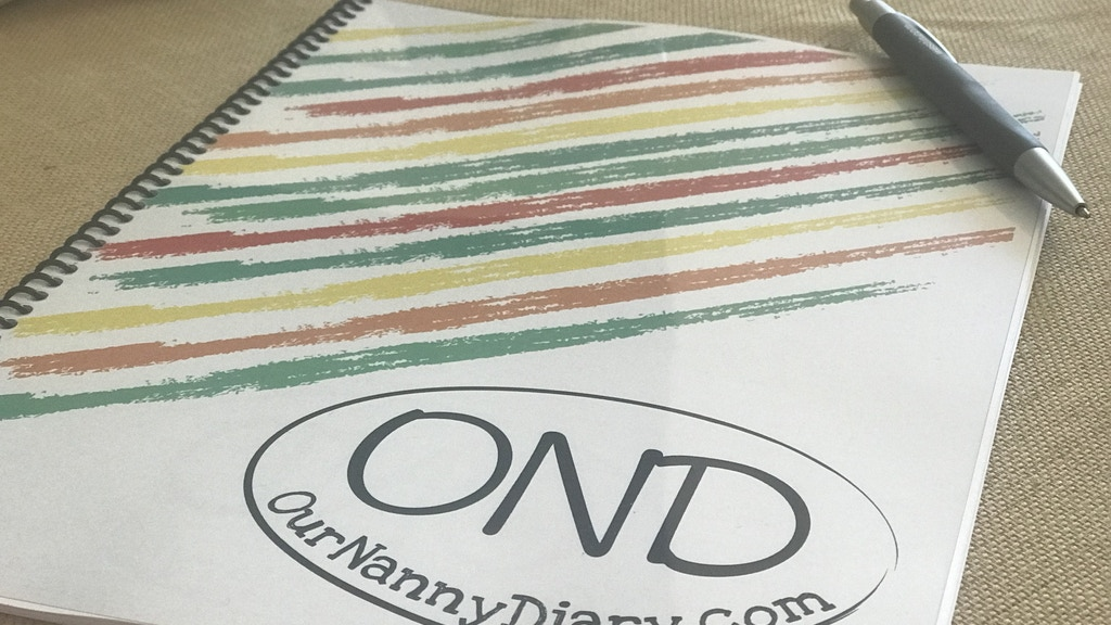 Our Nanny Diary - A Journal for Nannies and Families project video thumbnail