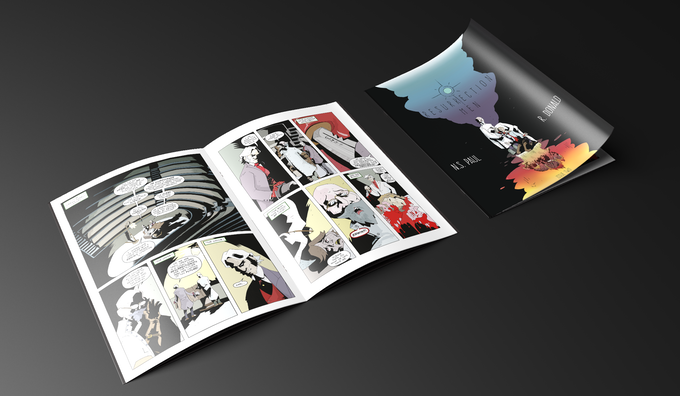 Mock up of the cover page and first two pages.