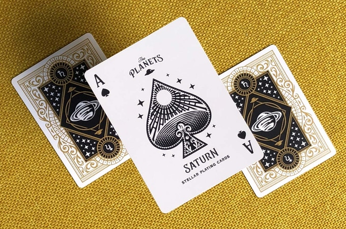 Ace of Spades + Back Design