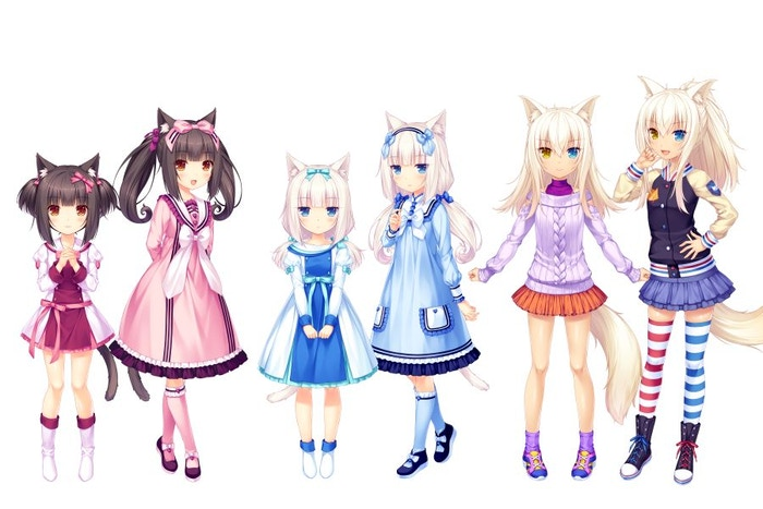Nekopara Anime Ova By Sekaiproject Update On Nekopara