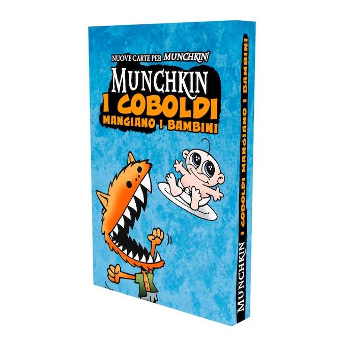La scatola dell'espansione di Munchkin
