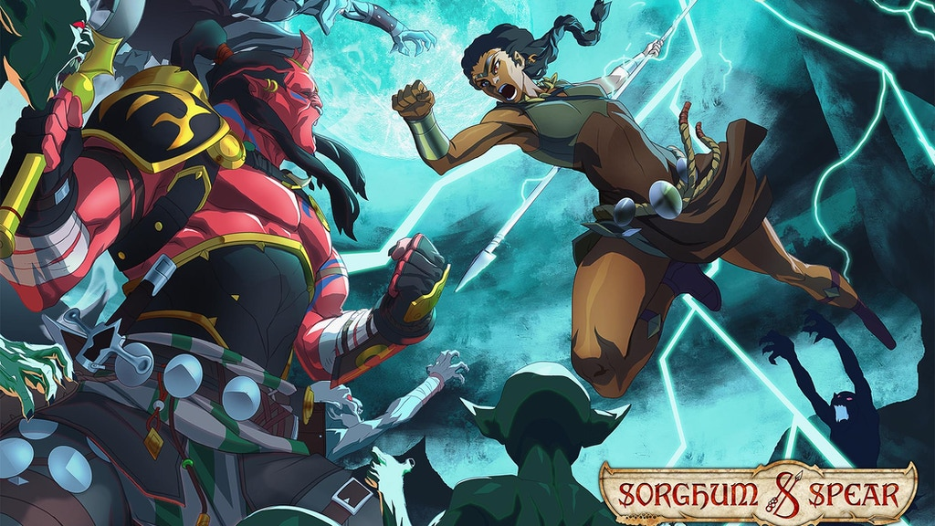 SORGHUM & SPEAR - Fantasy Graphic Novel & Animation Short project video thumbnail