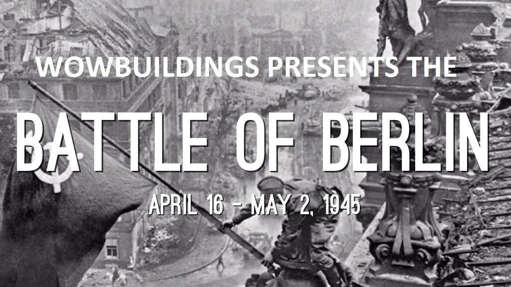 The Battle For Berlin 3D printing terrain stl files