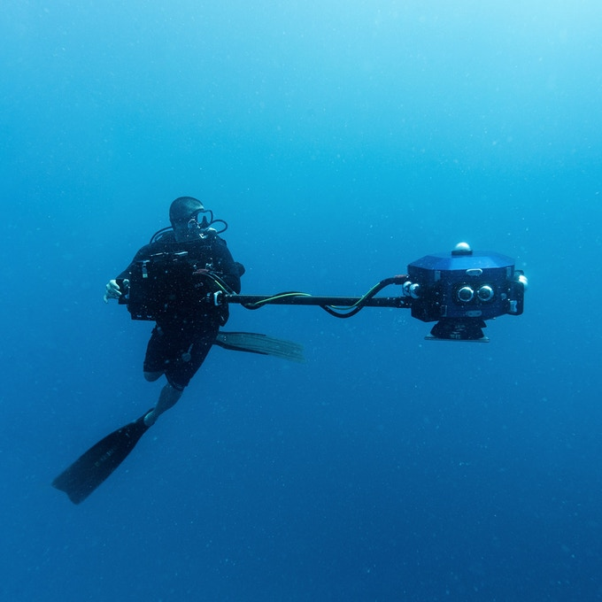 Rick Miskiv: Director of Underwater Photography, Co-Producer, Special Consultant for Palau & Dive Operations