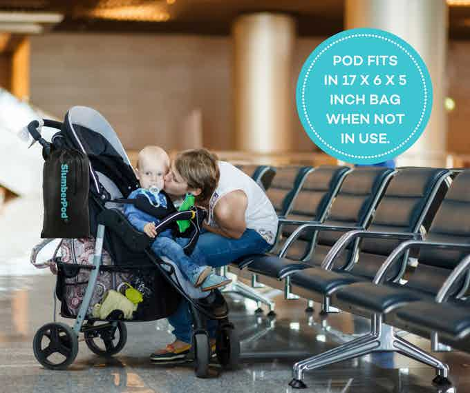 Pod and bag weigh less than 6 pounds!