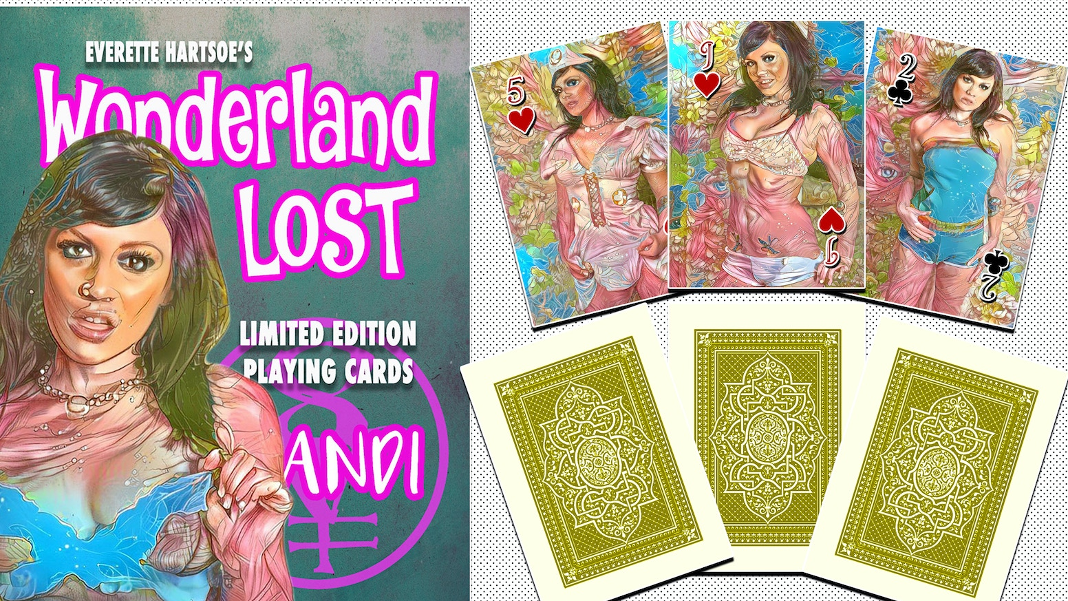WONDERLAND LOST: ANDI Limited to 150